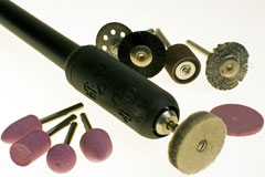 rotary power tool and various tool bits